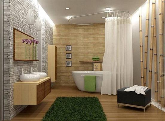 современной ванной комнаты: 50+ фото