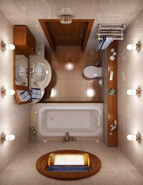 Освещение в ванной комнате: фото и