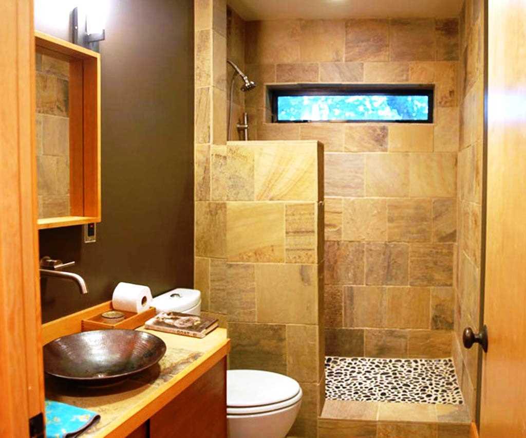 Дизайн ванной комнаты мини