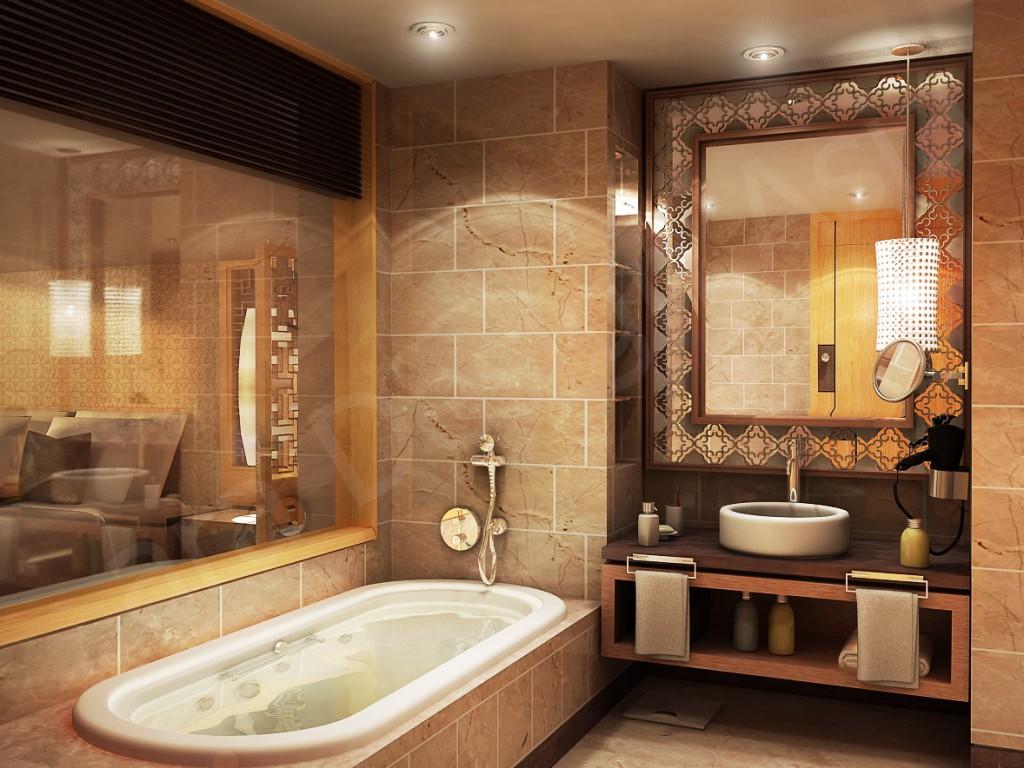 Как класть плитку в ванной своими руками