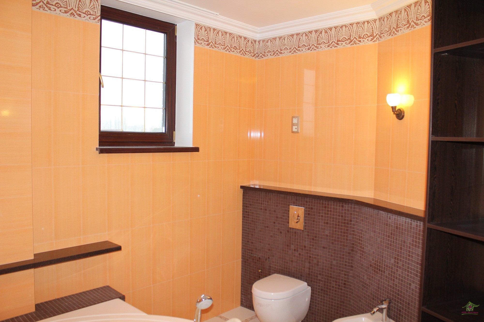 Kako okrasite stene v kopalnici v leseni hiši