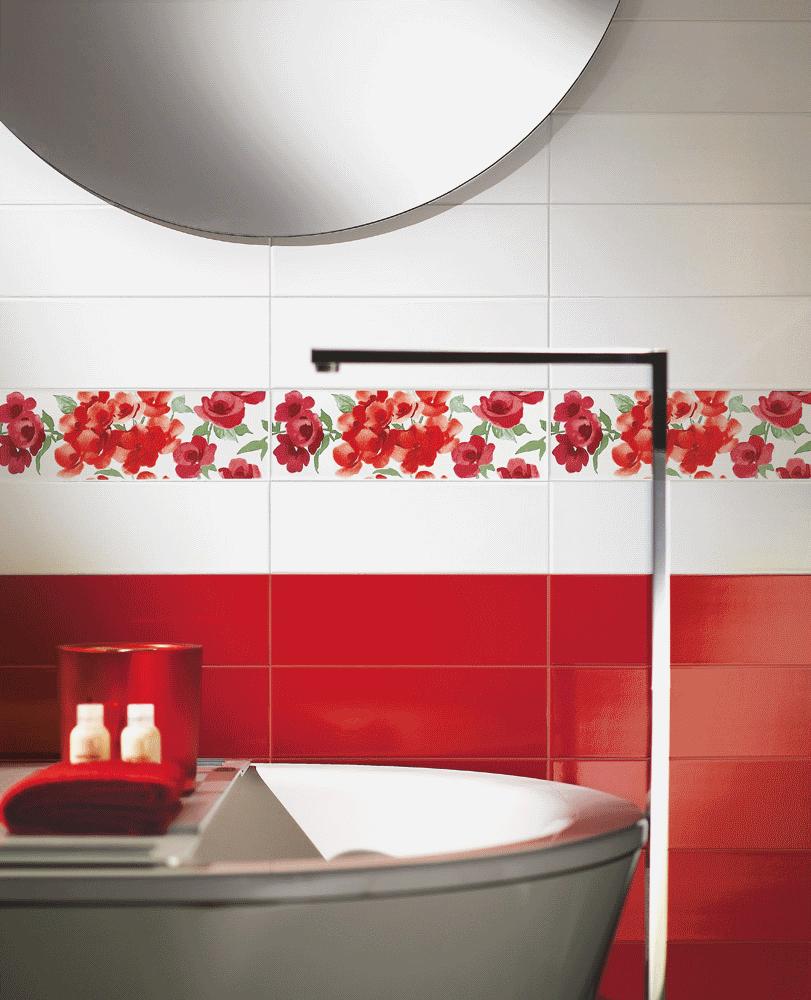 Дизайн кафельной плитки в ванной: Дизайн плитки в ванной комнате: фото + видео