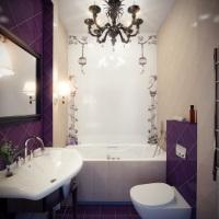 Удачное оформление малогабаритного санузла или особенности дизайна ванной комнаты маленького размера