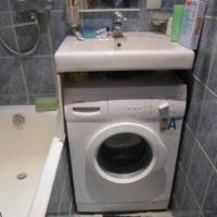 Чудеса экономии: как раковина под стиральной машиной позволяет организовать пространство
