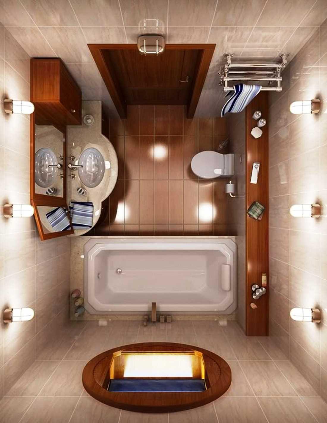 дизайн ванной комнаты 4м фото