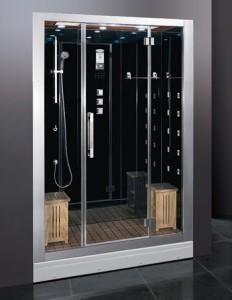 Габаритное оборудование для владельцев большой площади в ванной комнате