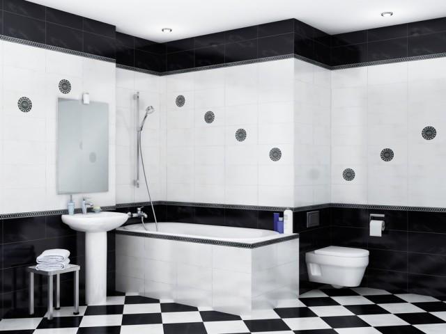 Ванная комната, созданная на контрасте оттенков и придающая вашей личности индивидуальность