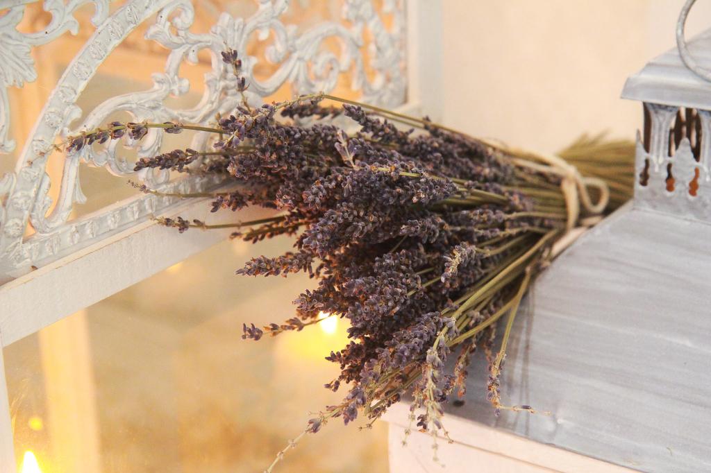 Букеты засушенных душистых трав не только добавят помещению уют, но и наполнят воздух чудесным ароматом