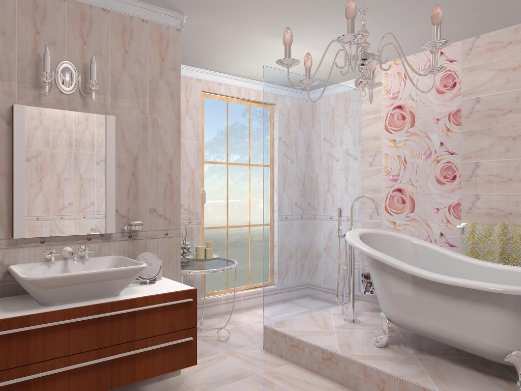 Ванная комната, отделанная панелями, смотрится ни чуть не хуже, чем помещение с кафельным покрытием