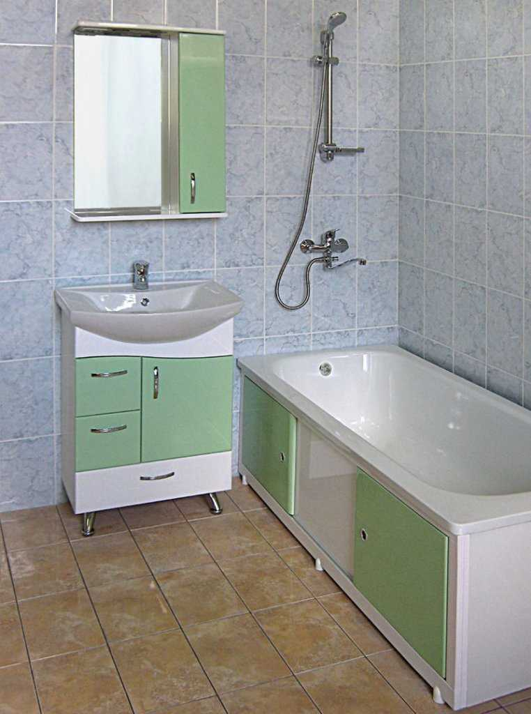 Экран преобразит даже самую простую ванную комнату, сделает её элегантной и строгой