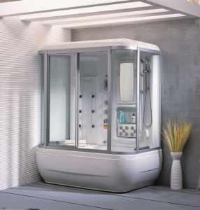 Прямоугольная душевая кабина – прекрасная альтернатива ванне. Установку стенок начинают с монтажа рабочей панели