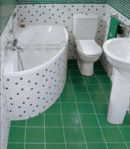 Правильно расположенная сантехника позволяет организовать пространство самым удобным образом
