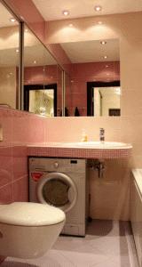 Сочетание светло-розового и бежевого создаст в маленькой комнате удивительный уют