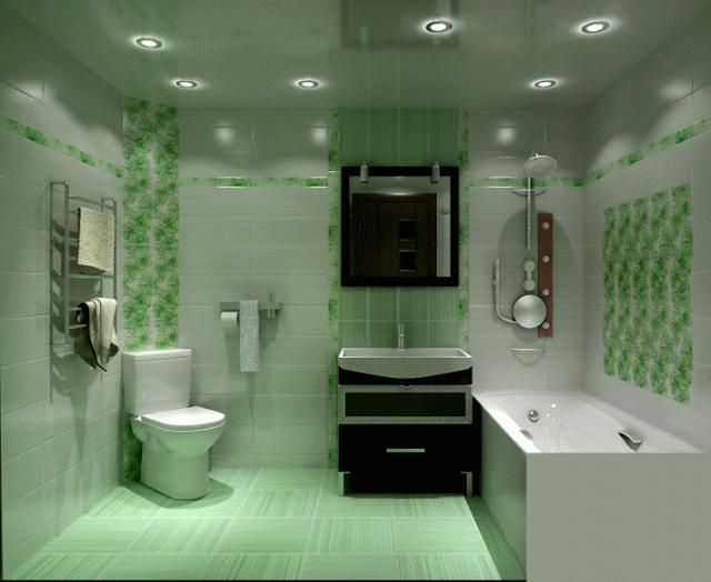 Точечные светильники помогают расставить акценты в интерьере и зонировать пространство