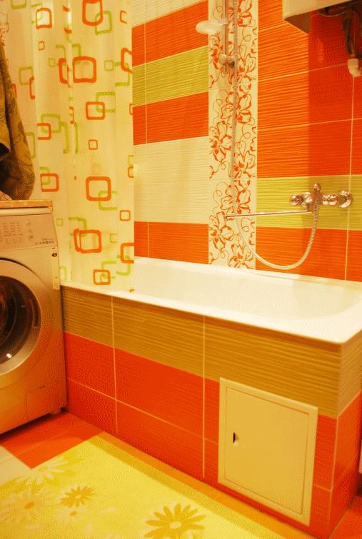 Яркие, солнечные, бодрящие цвета в ванной повышают настроение и придают жизненных сил