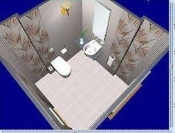 скриншот работы программы для раскладки плитки Кафель 6.0